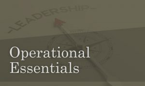 Operational Essentials