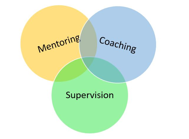 Can you tell the difference between mentoring, coaching and supervision? Does it matter?
